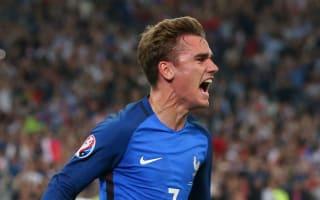 France 2 Albania 0: Late goals put hosts through