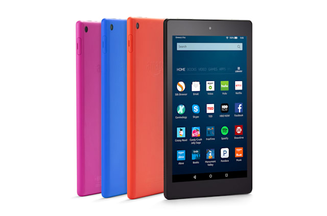 Amazon presenta su renovada Fire HD 8