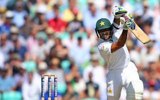 Shafiq targets 100-run lead after century