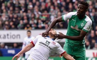 Two-game ban for Werder's Djilobodji