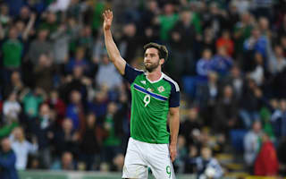 No Grigg in Northern Ireland's World Cup qualifying squad