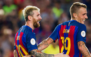 Magical Messi from another planet, says awestruck Digne