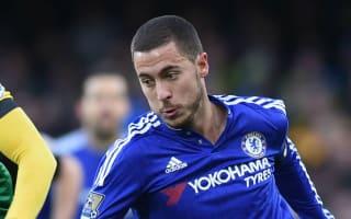 Chelsea v Watford: Hiddink backs Hazard to hit top form