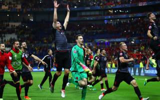Cana: Courage inspired landmark Albania win