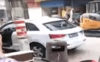 Woman vandalises her own car after row with boyfriend