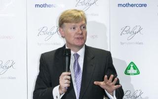 Simon Calver quits as Mothercare chief