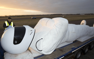 Giant Stig statue heading for Poland