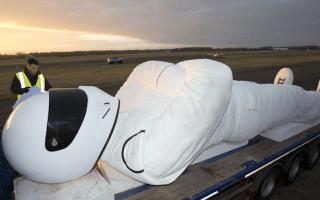 Giant Stig statue heading for Poland