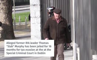 Alleged ex-IRA chief Thomas Murphy jailed for tax evasion but protests innocence