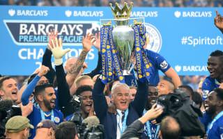 Gallas 'very proud' of former boss Ranieri's title glory