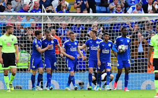 Leicester City 1 Bournemouth 1: Vardy ensures Foxes end champions season with a draw