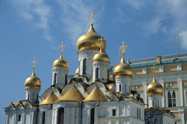 See the city of Moscow for £1,245...