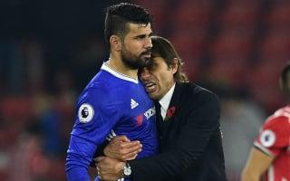 Conte: I trust Diego Costa 100 per cent