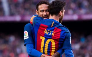 Neymar on 'same level' as Messi and Ronaldo - Ronaldinho
