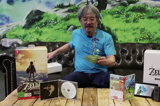 Nintendo enseña la edición limitada de 'Zelda: Breath of the Wild'
