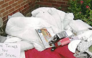 72-year-old dumps ex's belongings outside her house - and is fined for fly tipping