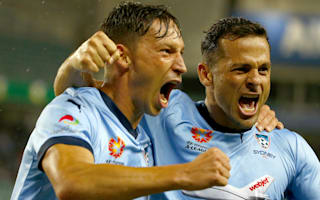 Sydney FC 1 Melbourne Victory 0: Bobo fires leaders to brink of Premiers Plate