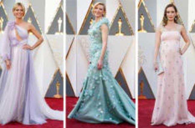 Regardez les mieux habillées aux cérémonies des Oscars passées