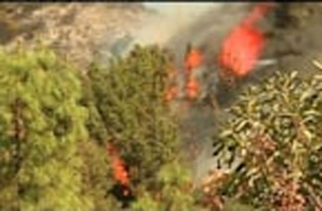 Wildfire scorches 1000 acres in Santa Cruz