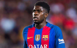 Barca's Umtiti out of Atleti clash with knee injury