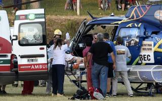Spectators hurt in car accident at Dakar Rally