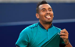 Kyrgios into last eight, Dolgopolov beaten