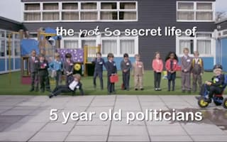 Green Party broadcast features 5-year-olds playing key political figures