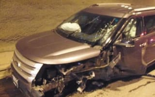 Teen driver holds breath in tunnel, causes three-car pile-up
