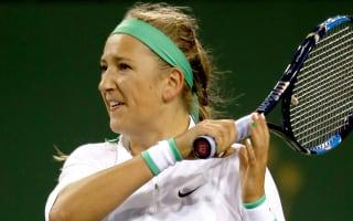 Azarenka, Pliskova ease into final four at Indian Wells