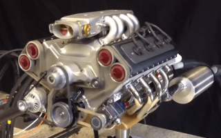 Video: The pocket-sized V8 engine