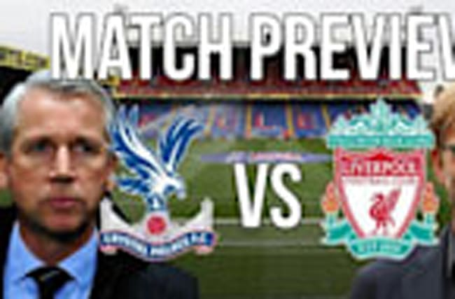 Crsytal Palace v Liverpool - Premier League match preview