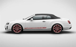 Bentley makes ice record special Supersports