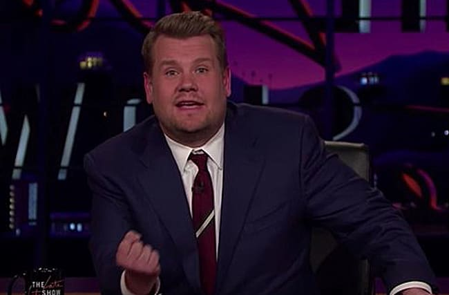 James Corden pays tribute to Londoners after attack