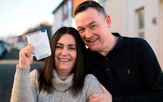 Couple find winning lottery ticket in bin three days after draw