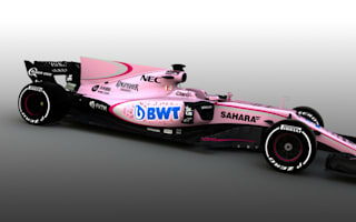 Pretty in pink? Mercedes tease Force India over shocking new colour scheme