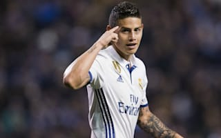 James: Five cup finals in LaLiga for Real Madrid
