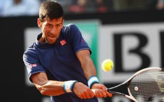 Djokovic races past Del Potro after rain delay