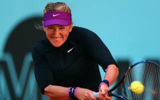 Azarenka withdraws, Kvitova loses as shocks continue in Madrid