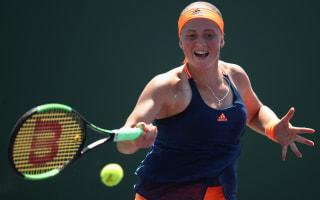 Teenagers Ostapenko, Kasatkina reach Charleston final