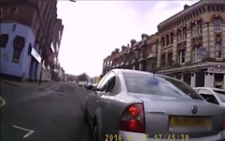 Driver asks cyclist to fight him during road rage attack
