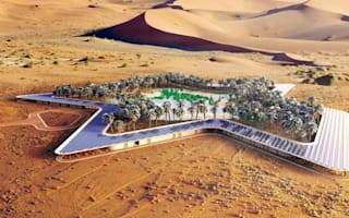 Oasis in the the desert: Incredible plan for Abu Dhabi resort