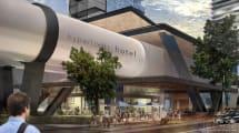 Hyperloop Hotel te permitiría viajar entre ciudades dentro de habitaciones lujosas