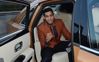 Amir Khan chased by gang in road rage incident