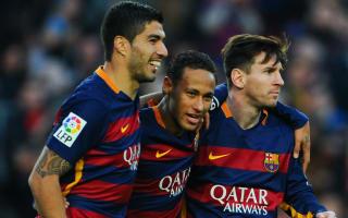 Messi, Suarez and Neymar world's best - Coutinho