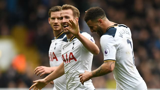 Kane scores 4 as EPL runner-up Tottenham routs Leicester 6-1