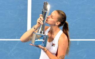 Pliskova crushes Cornet to claim Brisbane title