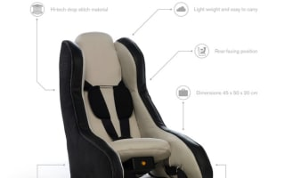 Volvo reinvents the child car seat