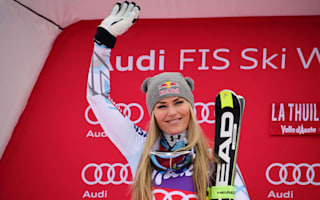Vonn secures yet another downhill title as Fanchini triumphs in La Thuile