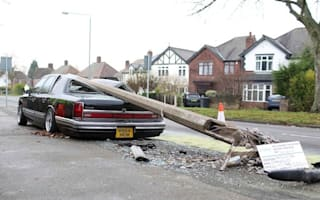 Restored, refreshed... and ruined: The classic car crushed by a lamppost