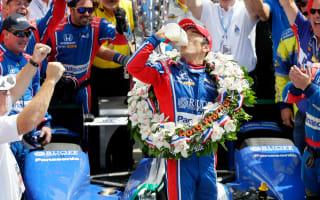 Sato wins crash-filled Indy 500, Alonso retires